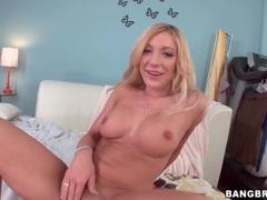 Blonde gives wet bj and has doggystyle anal sex videos