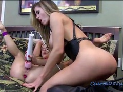 Bound girl licked and vibrated by mistress videos