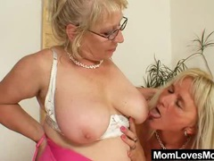 Big-titted gramma penetrates a madame videos