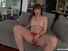 Dana dearmond strips off cute dress and toys her ass videos