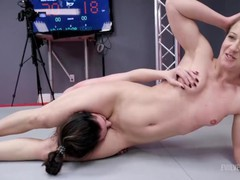 Aria khaide wrestling cheyenne jewel with pussy eating and her getting strapon fucked, Babe, Lesbian, MILF, Pornstar, Reality, Rough Sex, Pussy Licking movies at freekiloclips.com