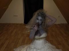 Return of the bride 2020 - halloween contest - deepthroat, BBW, Big Tits, Blonde, Blowjob, Czech, Verified Models movies at kilopills.com