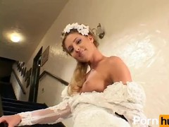 Here cums the bride 1 - scene 3, Babe, Big Dick, Blonde, Cumshot, Fetish, Hardcore, Pornstar, Reality, Anal, Small Tits, Role Play movies at kilopills.com