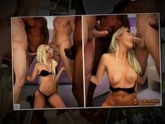 Nicole heat - more men, Blonde, Gangbang, Cartoon videos