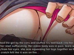 The very big boss, the lash, the rope and red high heels, Big Dick, Brunette, Threesome, Cartoon movies