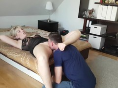 Facesitting on my slave, Amateur, Blonde, Squirt, Feet, Exclusive, Pussy Licking, Verified Amateurs movies at kilomatures.com