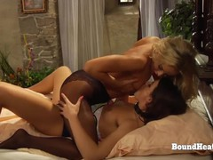 Facesitting lesbian action with naughty mistress and submissive slave, Babe, Bondage, Fetish, Lesbian, Teen (18+), Czech, Pussy Licking movies at nastyadult.info