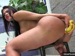 Shemale erica lee inserting a banana, Big Tits, Masturbation, Toys, Transgender movies at find-best-lingerie.com