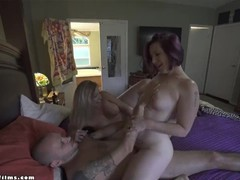 Hot milfs seduce pizza delivery guy into threesome - jane cane, coco vandi, Amateur, Blonde, MILF, Pornstar, Reality, Threesome, Verified Models tubes