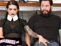 Burningangel gothic katrina jade gets rough fucked & destroyed by thirsty chauffeur, Blowjob, Cumshot, Hardcore, Pornstar, Reality, Rough Sex, Cosplay movies at freekiloclips.com