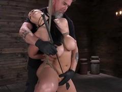 Angela white explores bondage, and pleasure, Big Ass, Babe, Big Tits, Bondage, Fetish, Toys, Pornstar tubes