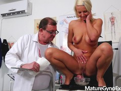 Hot blonde luci angel dirty gyno exam and fucking machine therapy, Babe, Blonde, Fetish, Toys, MILF, Reality, Czech movies at find-best-mature.com