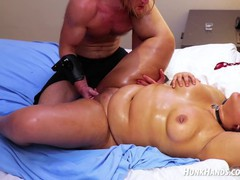 Chubby pierced fan gets bdsm massage.. squirts! choked hard!, Asian, Amateur, BBW, Reality, Squirt, Massage, 60FPS, Behind The Scenes tubes