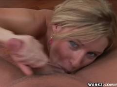 Wankz- allison pierce in pov blowjob, Babe, Big Tits, Blonde, Blowjob, Cumshot, Hardcore, Pornstar, POV tubes