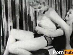 Softcore nudes 170 50s and 60s - scene 2, Amateur, Lesbian, Vintage, Compilation tubes