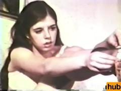 Softcore nudes 520 1960s - scene 4, Masturbation, Teen (18+), Vintage tubes