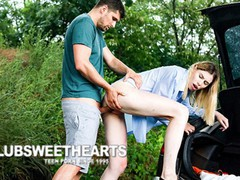 Tall babe fucked in the trunk of a car, Babe, Blowjob, Fetish, Handjob, Public, Pornstar, Teen (18+), Small Tits, Pussy Licking movies