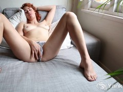 Tall molly masturbate her bald quim, Amateur, Babe, Masturbation, Red Head movies at find-best-panties.com