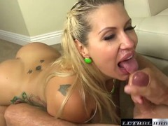 Pornstar savana loves having her thick ass spread and her pussy fucked, Big Ass, Babe, Big Dick, Big Tits, Blonde, Blowjob, Cumshot, Hardcore, Pornstar tubes