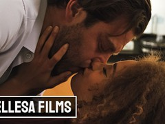 Bellesa - gorgeous babe cecilia lion makes out with her hot coworker seth gamble, Babe, Big Dick, Ebony, Pornstar, Small Tits movies at freekilomovies.com