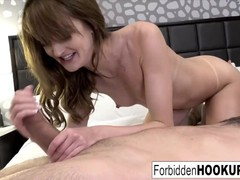 Skinny babe accidentally hooked up with her step-brother, Babe, Brunette, Blowjob, Cumshot, Hardcore, Pornstar, Small Tits tubes