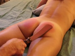 Sandra moore (tms-1) amateur submissive bdsm paddling caning bondage doggystyle creampie, Amateur, Bondage, Creampie, Toys, MILF, Rough Sex, Old/Young movies at freekiloclips.com