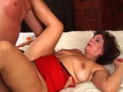 Hairy prostitute has sexual activity in the bedroom, Big Ass, Big Tits, Brunette, Blowjob, Cumshot, Mature movies at freekilomovies.com