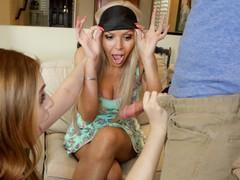 Brokenmilf - stepdaughter maya kendrick gives nina elle her boyfriend's big cock, Blowjob, Cumshot, MILF, Pornstar, Teen (18+), Threesome, Pussy Licking tubes