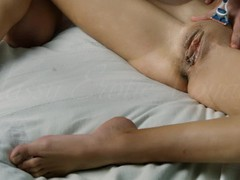 Fetish shaving clit exposure and fingering opened pussy, Brunette, Masturbation, POV, Small Tits, Feet, Verified Amateurs movies at find-best-mature.com