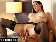 Hotwifexxx - big tit redhead wife lilian deepthroat cum on tits, Babe, Big Tits, Brunette, Blowjob, Cumshot, Hardcore, MILF, Pornstar, Popular With Women, Pussy Licking tubes