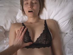The sexiest porn with top model in black lace bra, Amateur, Cumshot, Fetish, Handjob, Masturbation, Teen (18+), POV, Verified Amateurs movies at find-best-pussy.com