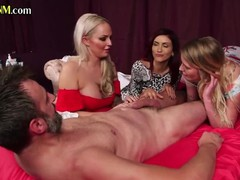 Classy cfnm babes sucking off submissive cock, Babe, Big Tits, Blonde, Brunette, Blowjob, Red Head, Small Tits, British tubes
