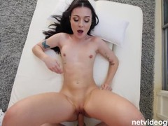 Perfect body on this brunette who is cheating on her long distance boyfriend, Amateur, Big Ass, Blowjob, POV, Casting, Pussy Licking tubes
