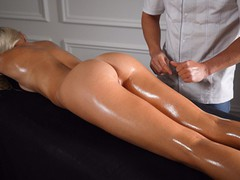Real cheating babe with big ass gets creampie after oil massage / unexpected sex amateur couple, Amateur, Big Ass, Creampie, Teen (18+), POV, Massage, Exclusive, Verified Amateurs movies at freekiloclips.com
