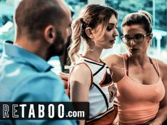 Pure taboo cheerleader into sex with coach & her husband, Babe, Big Dick, Pornstar, Reality, Teen (18+), Threesome, Old/Young movies at freekilomovies.com