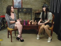 Chinese shemale jelly qiao's interview about sex experience with ts celine, Asian, Teen (18+), Transgender, Verified Models, Behind The Scenes movies at find-best-pussy.com