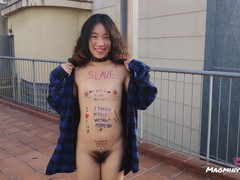 Chinese little sub loves body writing and being�, Asian, Amateur, Toys, Public, POV, Small Tits, Role Play, Verified Amateurs movies