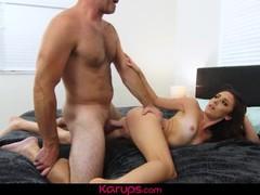 Karups - horny coed dani blu fucks for trip to france, Babe, Blowjob, Hardcore, Teen (18+), Small Tits videos