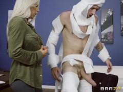 Rachel roxxx has fun at the office costume party - brazzers, Big Dick, Big Tits, Blonde, Hardcore, MILF, Pornstar, Reality, Popular With Women videos