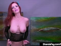 Creaming cougar shanda fay dildo fucks her creamy cunt!, Babe, Big Tits, Hardcore, Masturbation, Toys, Mature, MILF, Pornstar tubes