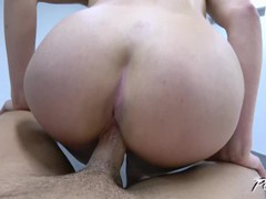 Curly blonde getting crazy when huge dick slide in her tight pussy, Amateur, Pornstar, Reality, POV, Czech tubes