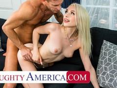 Naughty america - scarlett hampton fucks her dad's friend to get her spain trip paid, Babe, Big Dick, Blonde, Blowjob, Handjob, Hardcore, Masturbation, Small Tits movies at freekilomovies.com
