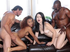 Daughterswap - pervy dads fuck and share daughters, Big Ass, Big Dick, Brunette, Interracial, Pornstar, Teen (18+), Small Tits movies at find-best-mature.com