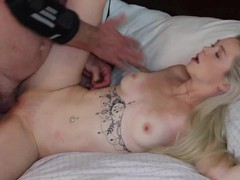 deepthroat blowjob oral doggystyle missionary creampie, Blonde, Blowjob, Pornstar, Small Tits, Pussy Licking, Old/Young tubes