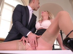 Sexilicious isabelle deltore opens up and says ahhh for her doctor, Blonde, Blowjob, Hardcore, Pornstar, Anal tubes