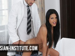Latina apolonia lapiedra passionate sex with doctor, Babe, Brunette, Blowjob, Hardcore, Latina, Pornstar, Teen (18+), Small Tits, Pussy Licking movies at find-best-mature.com