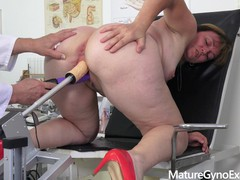 Horny czech countrywoman examined by freaky doctor, Big Ass, Fetish, Toys, MILF, Czech movies at find-best-mature.com
