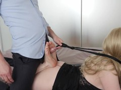 The man fiercely fucked in the legs of the girl! and he cum her evening dress! footjob, Amateur, Masturbation, Anal, Feet, Verified Amateurs movies at freekiloclips.com