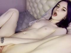 Skinny emo girl sexy striptease and masturbate, Handjob, Masturbation, Feet, Exclusive, Verified Amateurs videos