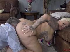Big ass femdom - lucky b, Big Ass, Babe, Big Tits, Blonde, Fetish, Pornstar, Pussy Licking movies